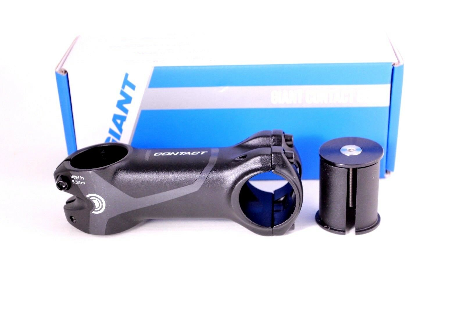 """GIANT Contact OD2 Stem 120mm 8 degree 1-1//4/"""" steerer /& included 1-1//8/"""" adapter"""