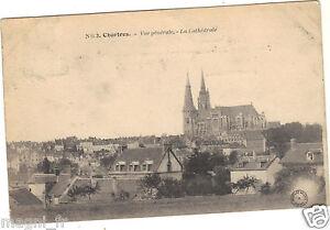 28-cartolina-CHARTRES-Vista-generale-et-la-cattedrale-H9460