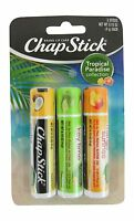 Chapstick Trop Paradise 3 Size .45z Chapstick Tropical Paradise 3pk