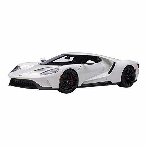 AUTOart 1 1 18 Ford GT 2017 White Model Car 72941 EMS w  Tracking NEW