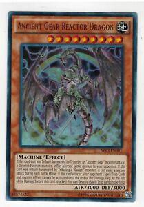 UNLIMITED** kaartspellen Ancient Gear Reactor Dragon  SR03-EN001 YuGiOh Ultra Rare