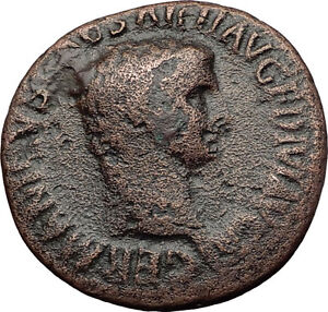 Germanicus-Julius-Caesar-37AD-Struck-under-Claudius-Ancient-Roman-Coin-i60657