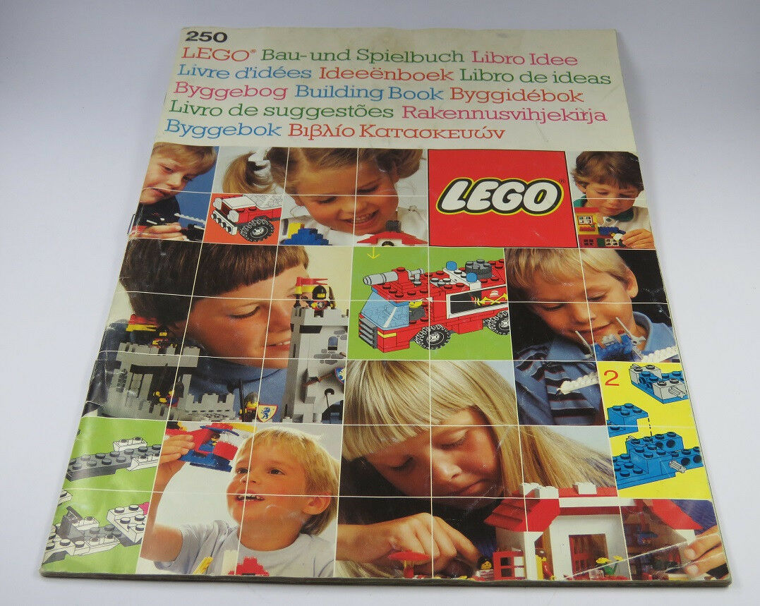 Lego Building Instruction No. 250 Construction and Play Book