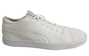 Puma Basket EvoKNIT 3D lacci bianco sporco da Uomo Tessile Scarpe da ginnastica 363650 02 M11