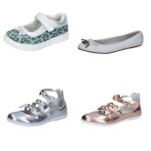 ENRICO COVERI scarpe bambina ballerine verde bianco argento rosa pelle tessuto