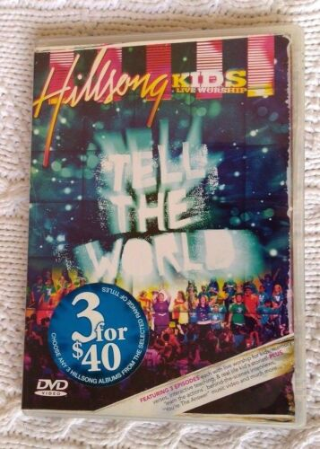 1 of 1 - Tell the World by Hillsong United (DVD) R- ALL, LIKE NEW, FREE POST AUS-WIDE