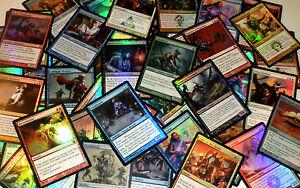 Magic-the-Gathering-4-FOIL-RARE-LOT-x4-card-4x-mtg-NM-mixed-bulk-collection