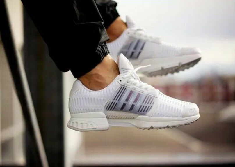 ADIDAS CLIMA COOL 1 RUNNING SHOES WHITE BLACK BRAND NEW (BB0671) - Size 10.5