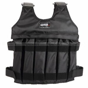 Max-50KG-Loading-Adjustable-Workout-Weight-Weighted-Vest-Exercise-Training-Fitne