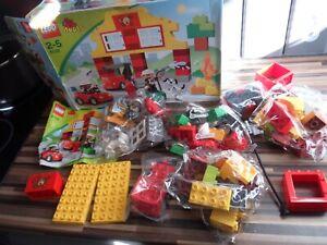 Lego DUPLO FIRE STATION 6138 ~ New SEALED PACKETS - BOX SLIGHTLY DAMAGED RARE