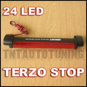 UNIVERSALE-TERZO-STOP-FANALE-POSTERIORE-24-LED-Alfa-Romeo-156-159-164-166