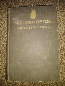 The-Merchant-Of-Venice-Edited-By-W-J-Rolfe