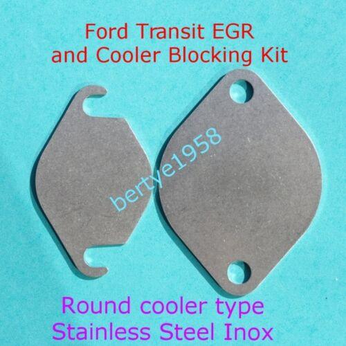EGR Valve /& Round Cooler End Type Blanking Kit MK7 TRANSIT 2.2 2.4 3.2 TDCi
