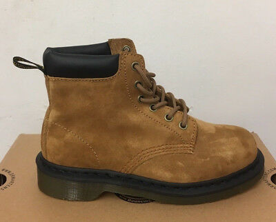 DR. MARTENS 939 TAN SOFT BUCK   BOOTS SIZE UK 12
