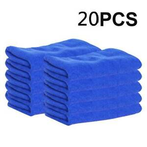 20-x-LARGE-MICROFIBRE-CLEANING-AUTO-CAR-DETAILING-SOFT-CLOTHS-WASH-TOWEL-DUSTER