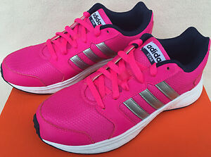 online store c08f7 9c43e Image is loading Adidas-Neo-Star-AW5184-Hot-Pink-Silver-5K-