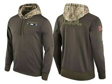 buy online ea4e2 51055 NFL Dallas Cowboys Men's Olive Salute to Service Sideline Pullover Hoodie  2xl