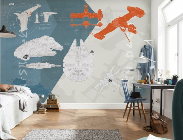 368x254cm Wall Mural Photo Wallpaper Star Wars Childrens Bedroom Boy S Room For Sale Online