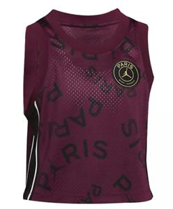 NIKE Women Jordan PSG Tank Top Purple Black Gold CU5707 610 - Large New