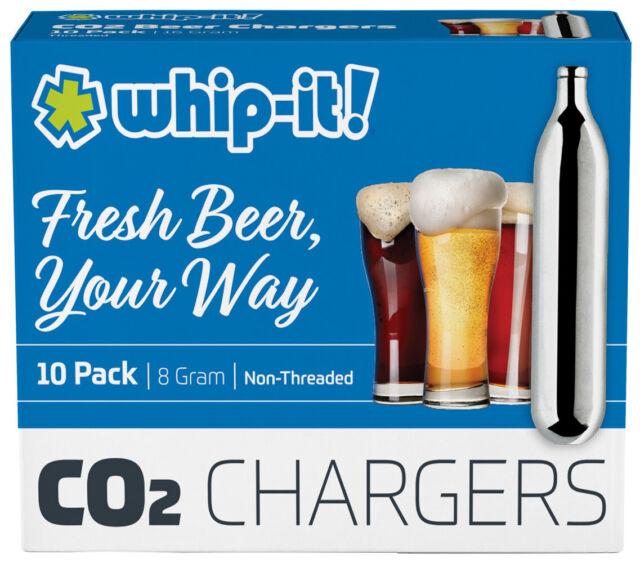 30  CO2 16g cartridge Non threaded C02 Beer 16 gram keg