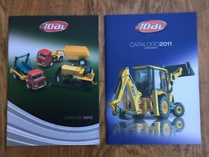 2-x-JOAL-colour-catalogues-2010-amp-2011-Construction-Trucks-Helicopters-Coaches