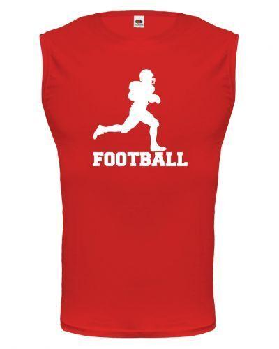 Unisex Muskelshirt ärmellos Tank Top American Football Ballsport