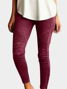Jeggings-Pencil-Trousers-High-Waist-Long-Pants-Casual-Women-039-s-Skinny-Cargo