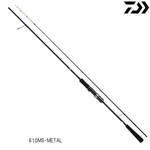 Daiwa Catalina Bj aire portátil 610MS-Metal Spinning Rod