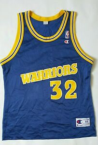 old warriors jersey
