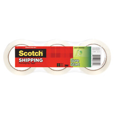 Scotch Sure Start Shipping Tape 1 78 X 437 Yd Clear Pack Of 3 Rolls
