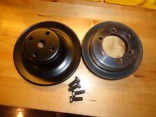 66-68 Mopar 426 Hemi B Body Crank & Water Pump Pulley w/ Power Steering