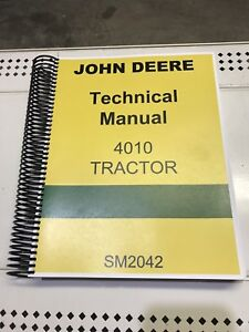 4010 John Deere Technical Service Shop Repair Manual | eBay John Deere Wiring Schematic on