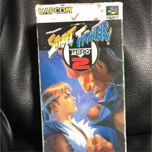 Street-fighter-ZERO-2-with-Box-super-Nintendo-F-S-JAPAN