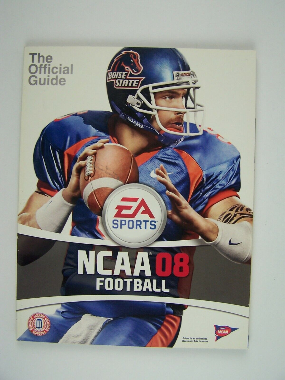 NCAA Football 08: Prima Official Game Guide Paperback