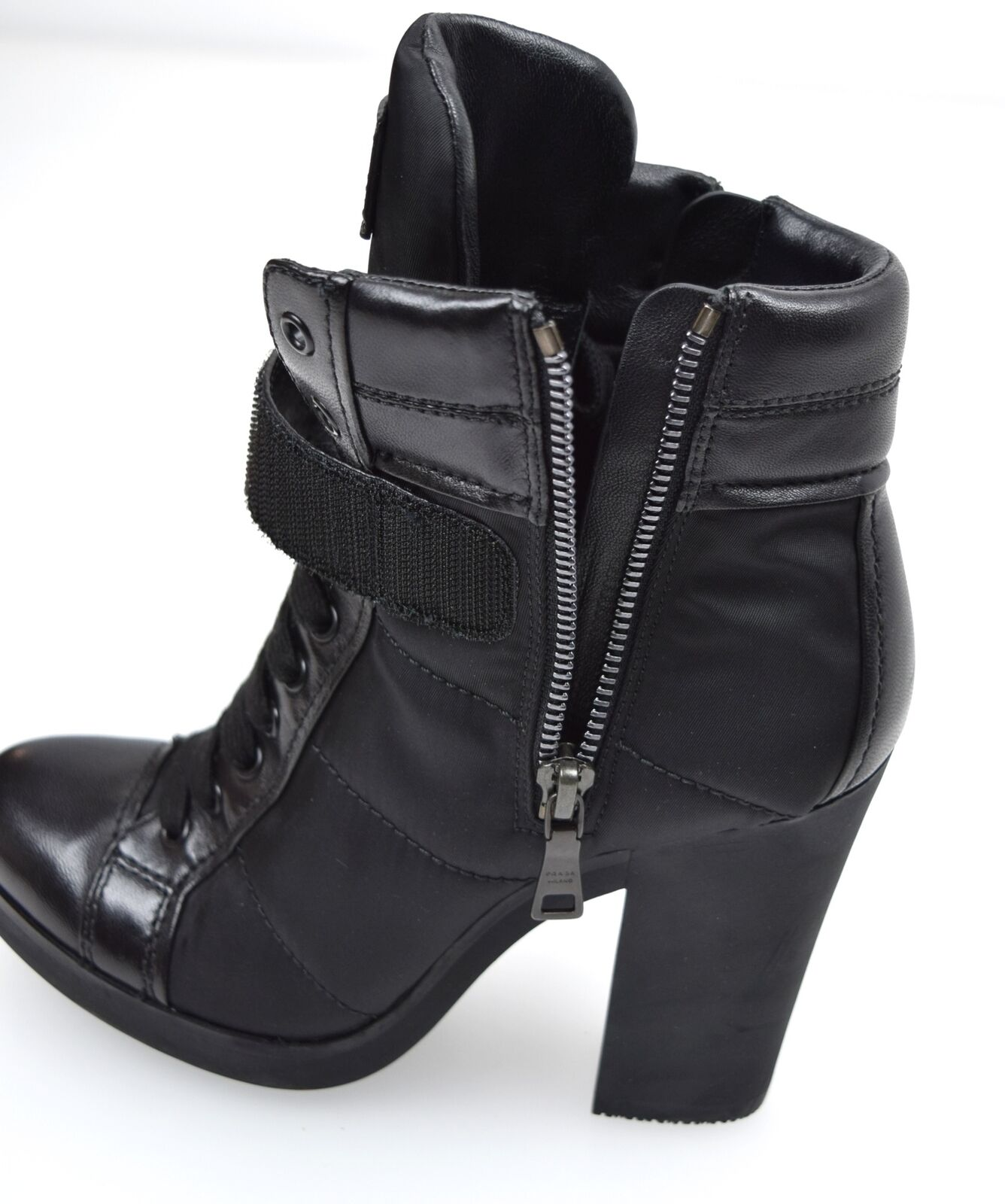 PRADA WOMAN ANKLE Stiefel TIME StiefelIES WINTER CASUAL FREE TIME Stiefel LEATHER CODE 3TP020 d8439c