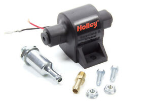 Holley-Electric-External-32-GPH-Low-Pressure-Fuel-Pump-All-Fuel-Universal-12-427