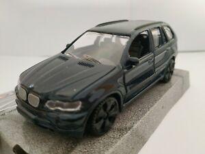 1-43-BMW-X5-AZUL-OSCURO-COCHE-DE-METAL-A-ESCALA-SCALE-DIECAST