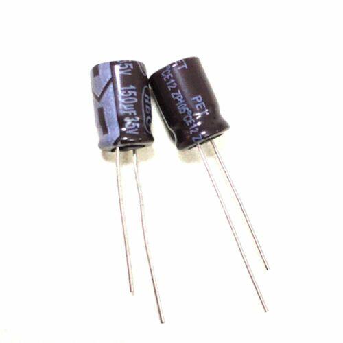 35v 22uf 47uf 100uf 150uf 220uf 330uf 470uf 105c aluminum capacitor