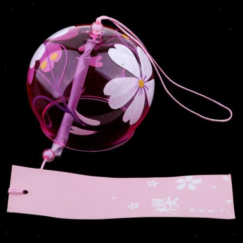 aus Glas Japanische Windspiel Kirschblüte Wind Chimes