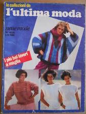Le Collezioni de L'Ultima Moda n°5 1983 - Lavori di Maglia   [M6]
