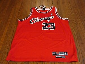 online retailer fa93e 24d5f Details about Authentic Nike Flight 8403 Chicago Bulls Michael Jordan Away  Jersey sz 52 2XL