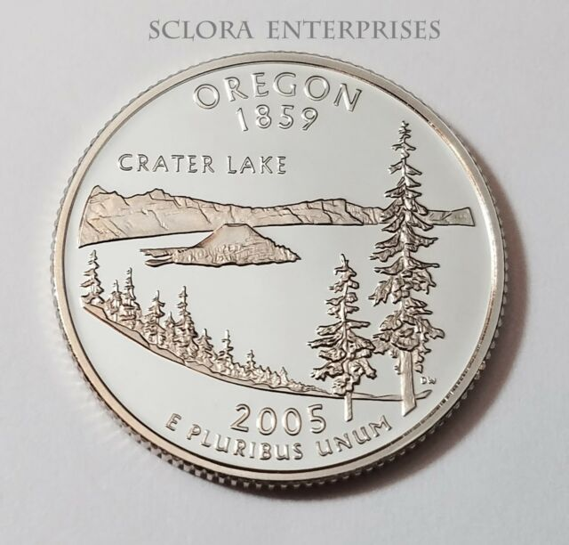 2005 S OREGON *PROOF* STATE QUARTER   **FREE SHIPPING**
