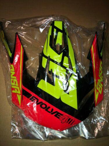 Answer Evolve 4 Helmet Visor Green Black Red ANSR Motocross Parts NEW