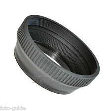 Gegenlichtblende Gummi 77 mm Standard faltbar Lens Hood Sonnenblende
