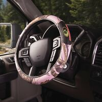 Pink Mossy Oak Camouflage Grip Steering Wheel Cover - Camo Auto