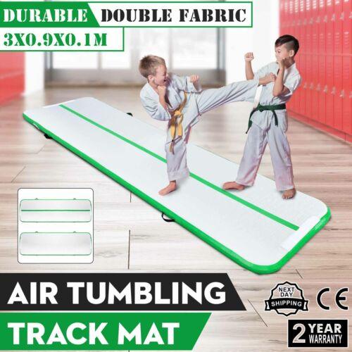 Aufblasbar Air Track Floor Tumbling Gymnastikmatte Fitess Taekwondo Matte Pumpe