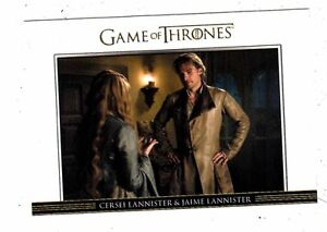 Game Of Thrones Season 3 Relationships Chase Card  DL18 Tyrion Lannister and