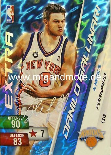 Panini NBA adrenalyn xl 2011-Danilo Gallinari ext sig