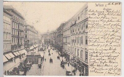 (15416) Ak Wien, Graben 1903 Profitieren Sie Klein