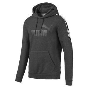 PUMA-Amplified-Men-039-s-Fleece-Hoodie-Men-Sweat-Basics